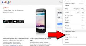 google chrome ustawienia