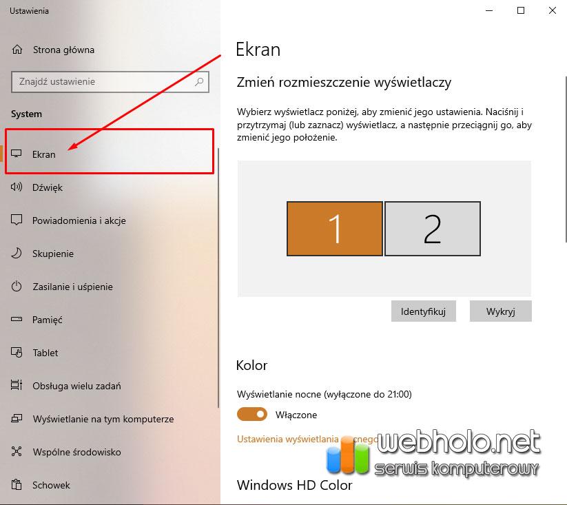 Jak-obrocic-ekran-na-komputerze-Windows-10-