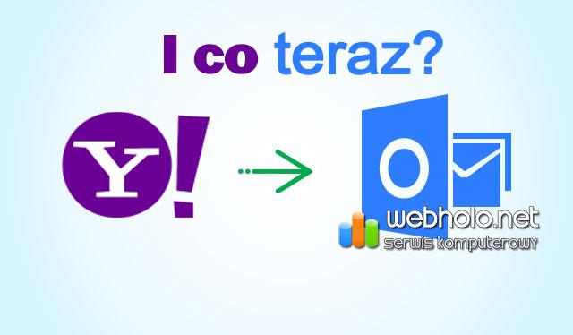 Poczta Yahoo przestała działać z programem Outlook
